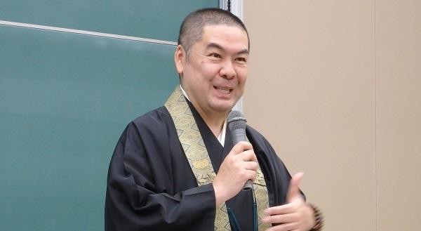 難しい話をわかりやすく説いてくださる醍醐寺の執行・総務部長の仲田順英師