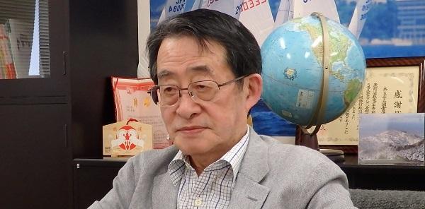 奈良県立図書情報館館長の千田稔先生