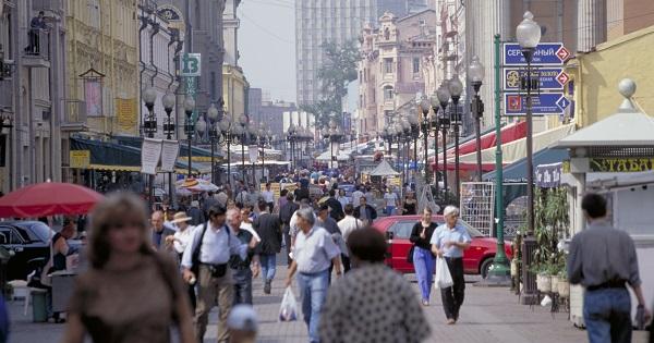 ロシア モスクワ市内