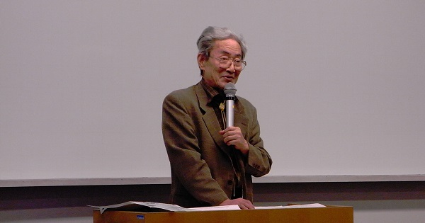 明治大学名誉教授・越智道雄先生