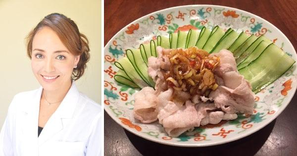 きゅうりと豚肉の中華冷菜