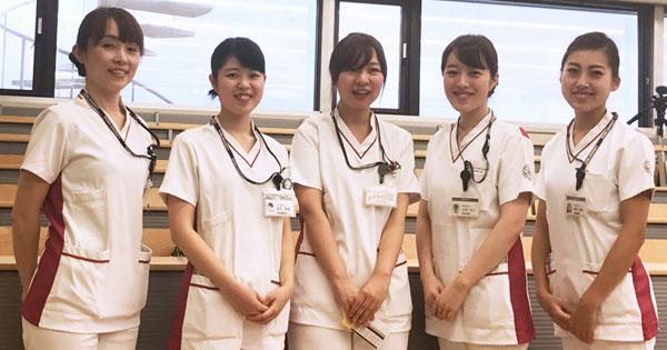 昭和大学歯科病院の歯科衛生士の皆さん